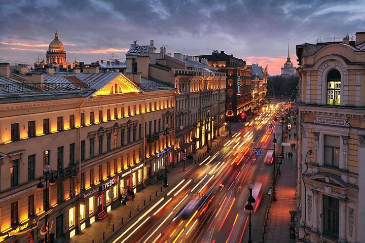 خیابان نوسکی، معروف ترین خیابان روسیه