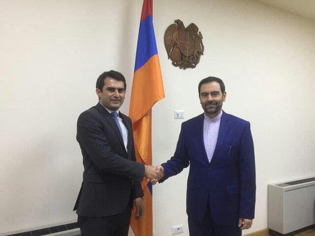 آذری جهرمی به ارمنستان سفر می نماید