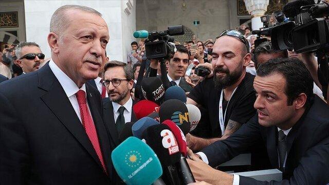 اردوغان، آمریکا را تهدید کرد