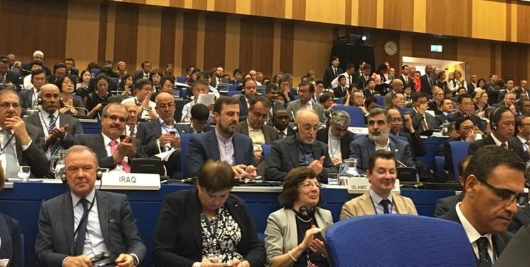سفیر ایران در آژانس بین المللی انرژی اتمی معاون رئیس کنفرانس عمومی از گروه مزا شد