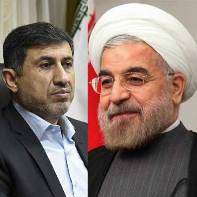 دیدار استاندار البرز با رئیس جمهور