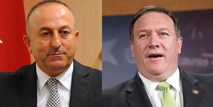 وزرای خارجه آمریکا و ترکیه تلفنی گفت وگو کردند