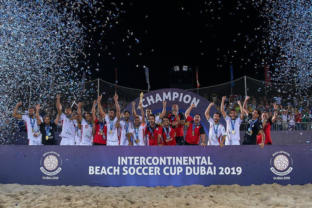 فوتبال ساحلی پرچم قهرمانی ایران را در امارات برافراشت
