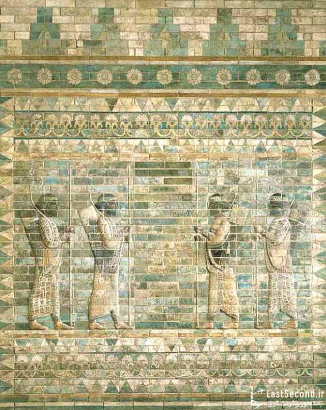با آثار باستانی ایرانی موزه لوور آشنا شوید