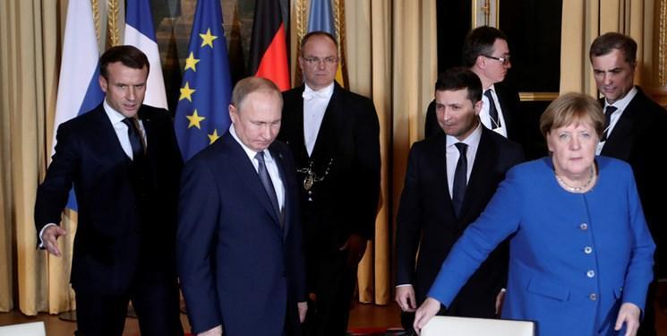 پوتین و زلنسکی برای نخستین بار ملاقات کردند