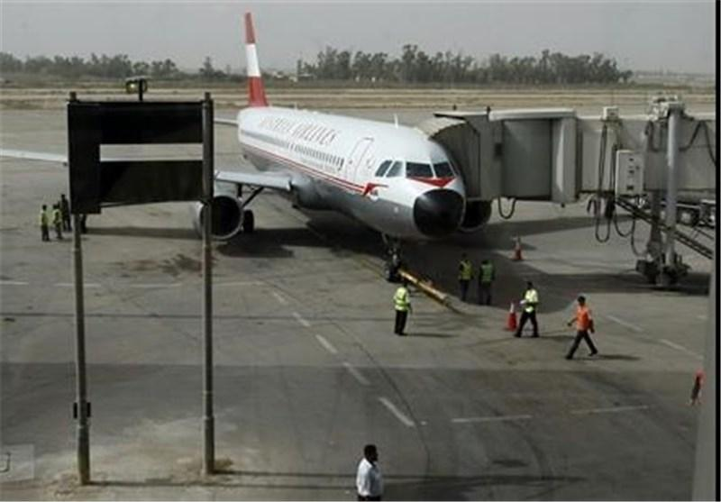 اصابت 2 راکت به اطراف فرودگاه بین المللی بغداد