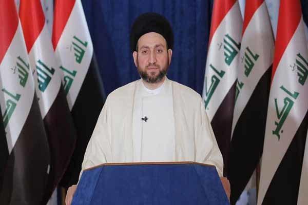 واکنش عمار حکیم به حادثه منطقه الوثبه در بغداد