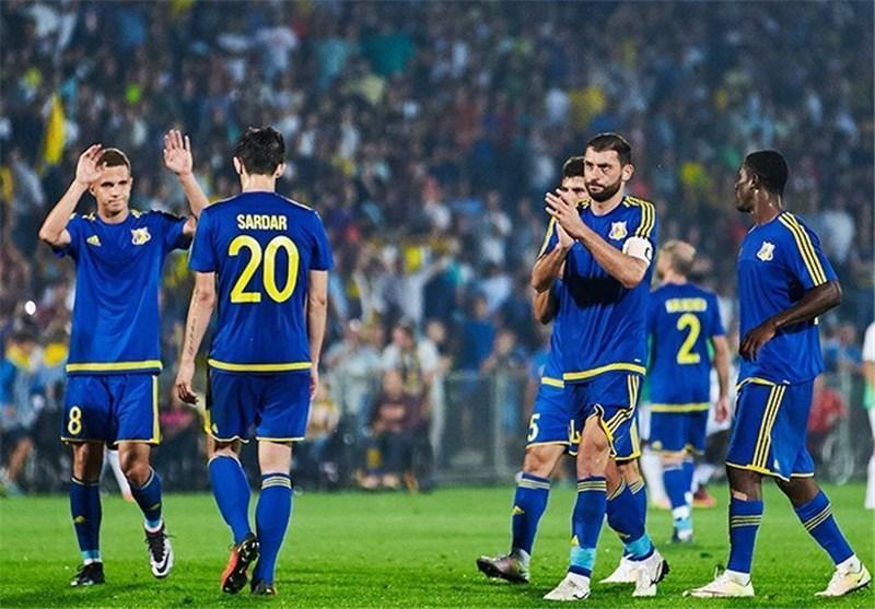 حریفان احتمالی روستوف و دینامو زاگرب در مرحله پلی آف لیگ قهرمانان