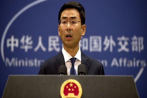 چین خواهان لغو تحریم های ایران شد