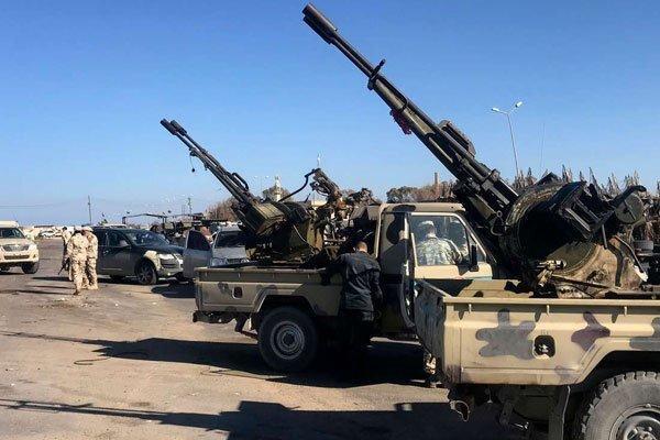 عملیات دولت وفاق لیبی برای تسلط بر شهر ترهونه