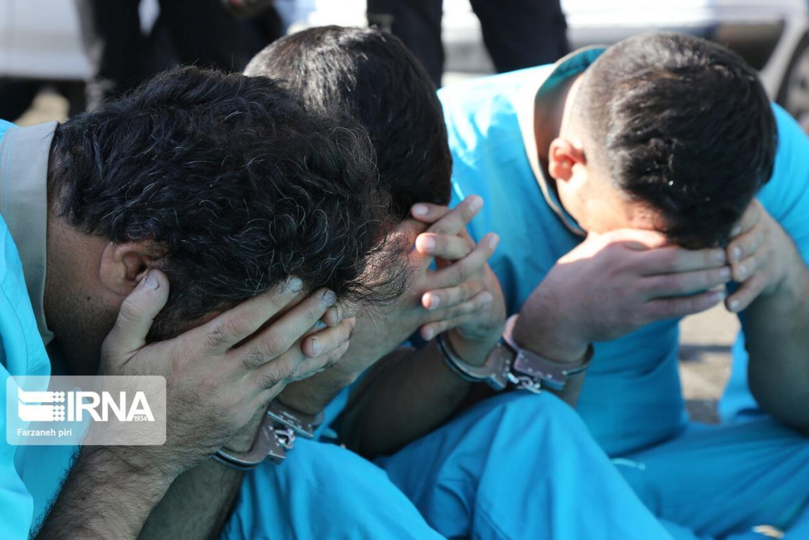 خبرنگاران انهدام شبکه سارقان لوازم داخل خودرو در ارومیه