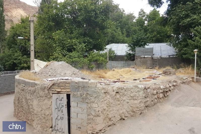 انتها بازسازی حمام قاجاری روستای درده فیروزکوه