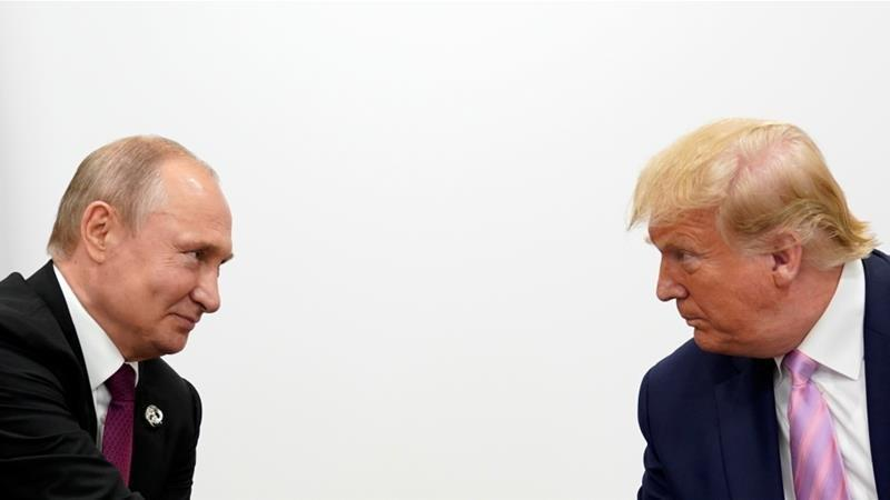درخواست ترامپ از پوتین درباره چین