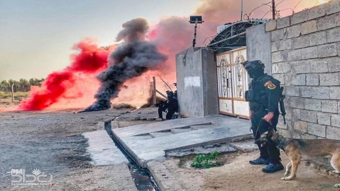 حمله انتحاری عناصر داعش دفع شد