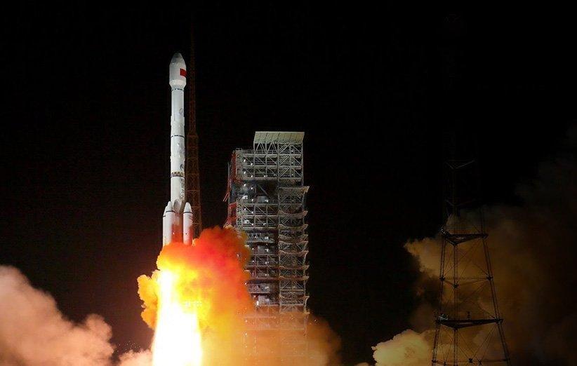 ماهواره زمین شناسی گائوفن 13 چین با موفقیت پرتاب شد
