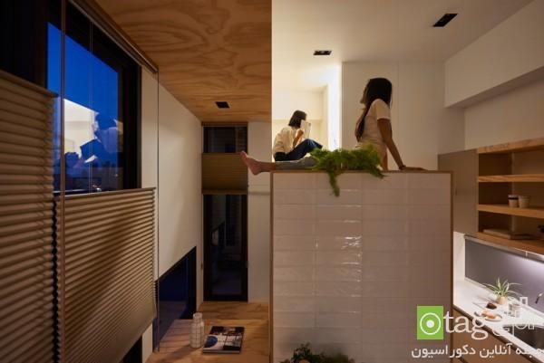 دکوراسیون داخلی خانه کوچک 33 متری الهام گرفته از عناصر طبیعی