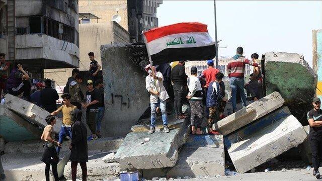 تظاهرکنندگان عراقی خیابان های اصلی و پل های ناصریه را بستند