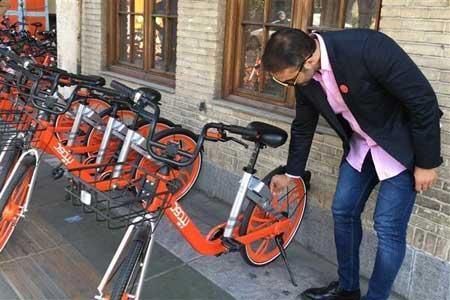 دوچرخه های عمومی هوشمند را ضدعفونی کنید