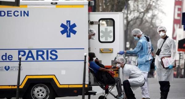 ابتلای 18436 نفر دیگر به مبتلایان به کرونا در فرانسه