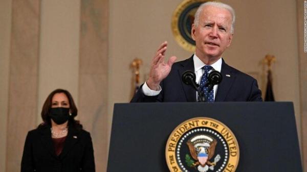 بایدن: چین معتقد است در 15 سال آینده مالک آمریکا می گردد