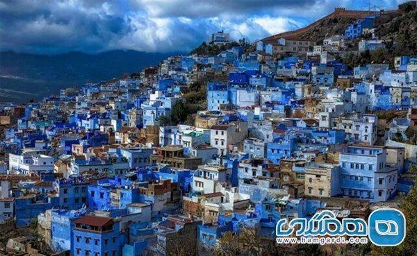 شهر و روستاهایی که به واسطه تک رنگ بودن نمای ساختمان هایشان مشهور شده اند